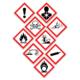Faresymboler på rengjøringsmidler